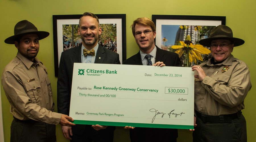 Park_ranger_Citizens_Bank_Check_Presentation