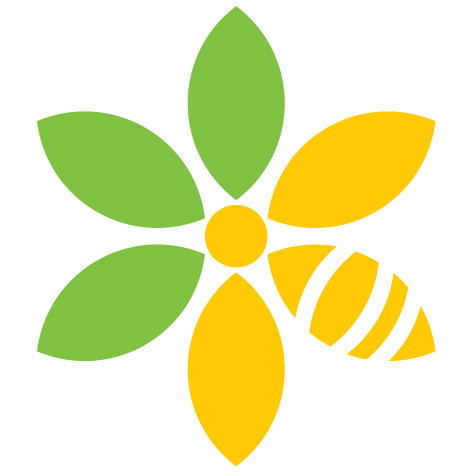 Watch for this Pollinator Ribbon Icon throughout The Greenway!